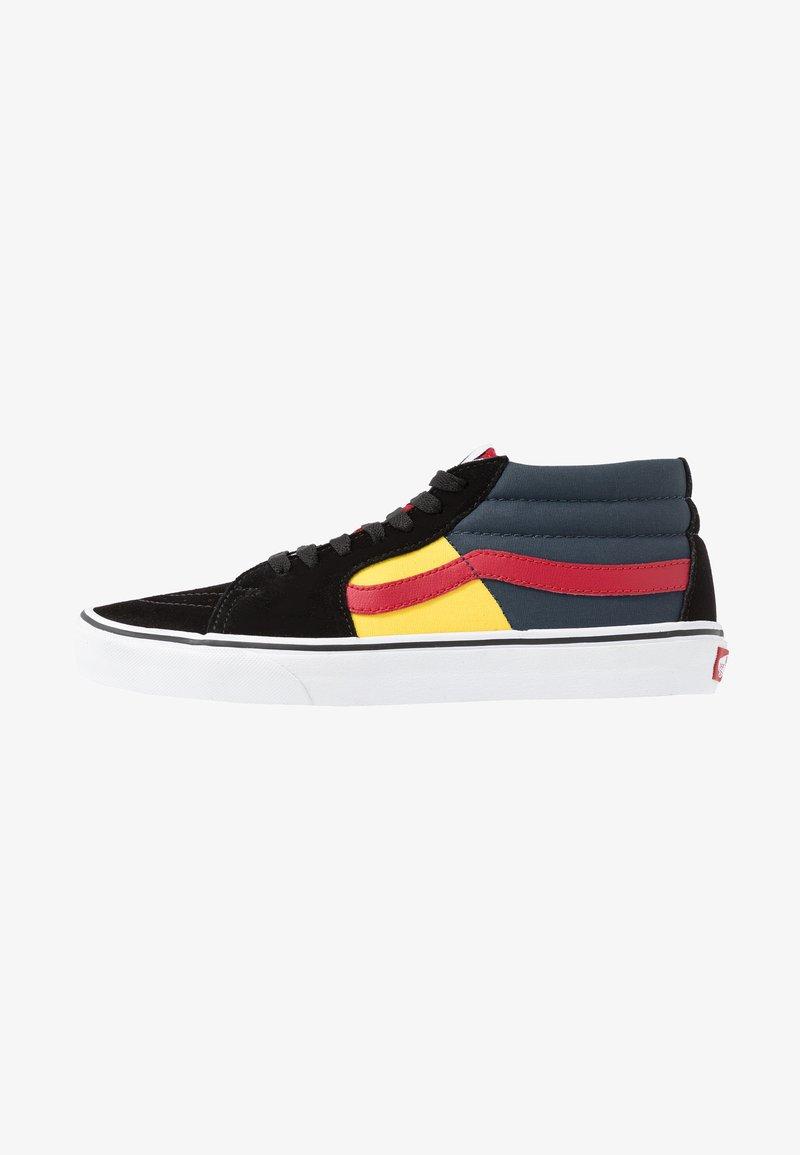 Vans - SK8 MID - Sneakers alte - black/true white