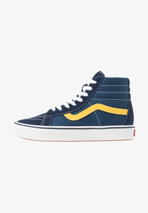 Sneakers high - dress blues/gibraltar sea/sulphur