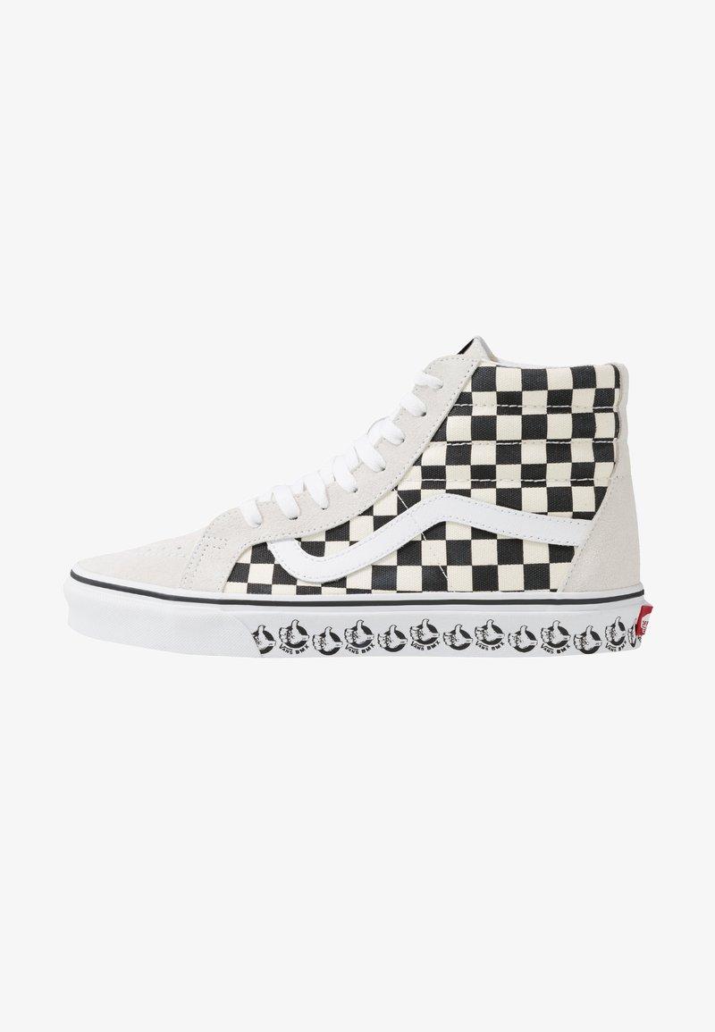 Vans - SK8 REISSUE - Sneaker high - white/black