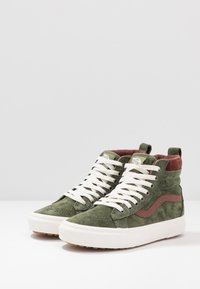 Vans - SK8 MTE - Sneaker high - deep lichen green/root beer - 2