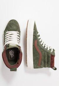 Vans - SK8 MTE - Sneaker high - deep lichen green/root beer - 1