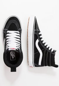 Vans - SK8 MTE - Høye joggesko - black/true white - 2