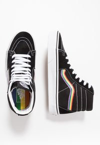 Vans - SK8 - High-top trainers - black/multicolor/true white - 1