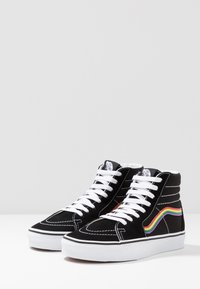 Vans - SK8 - High-top trainers - black/multicolor/true white - 2