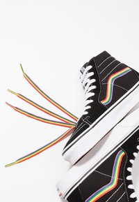 Vans - SK8 - High-top trainers - black/multicolor/true white - 5