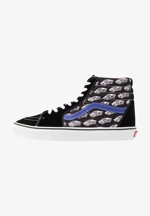 SK8 - Sneakersy wysokie - black/royal blue