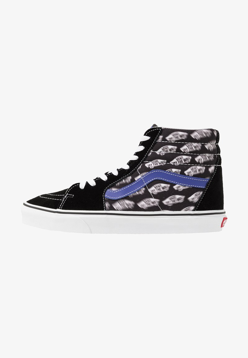 Vans - SK8 - High-top trainers - black/royal blue
