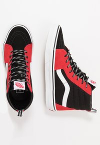 Vans - SK8 - High-top trainers - red/black/true white - 1