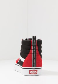 Vans - SK8 - High-top trainers - red/black/true white - 3