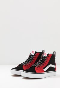 Vans - SK8 - High-top trainers - red/black/true white - 2