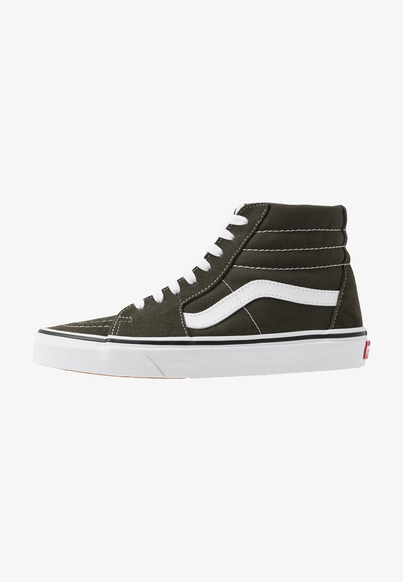 Vans - SK8 - Korkeavartiset tennarit - forest night/true white
