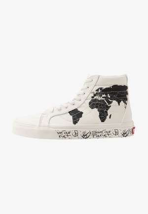 SK8 REISSUE SAVE OUR PLANET - Sneakersy wysokie - classic white/black