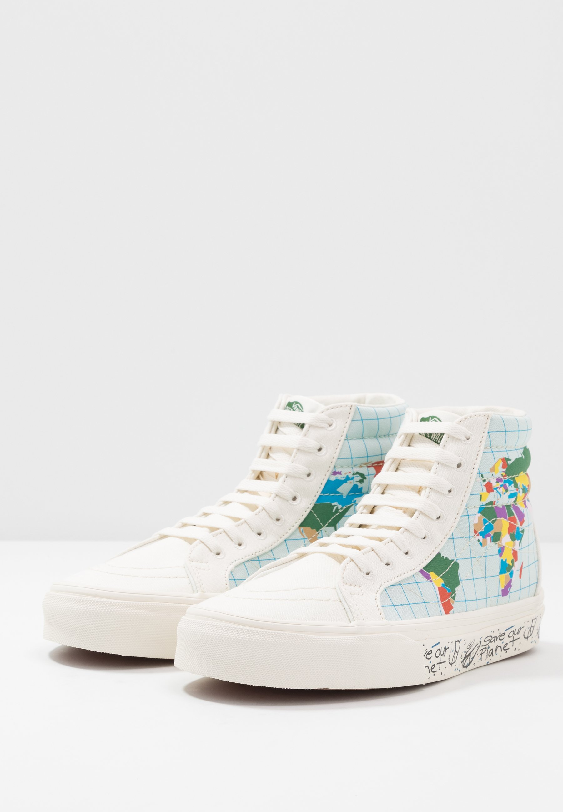 REISSUE PLANETBaskets montantes SK8 OUR multicolor Vans classic white SAVE OXukZiP
