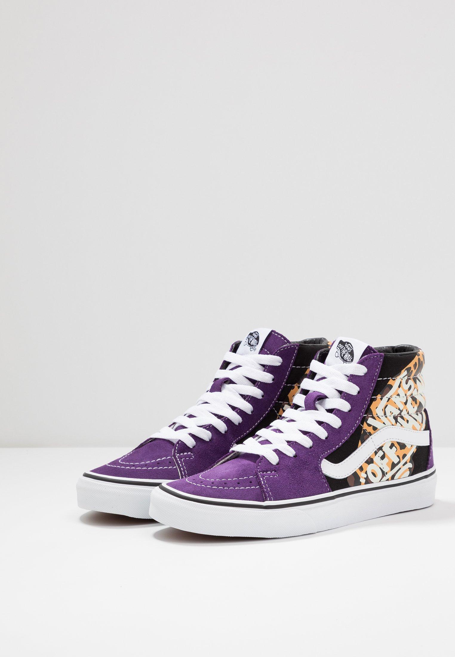 indigo true Vans SK8Baskets violet montantes white ny8w0OvmN