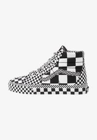Vans - SK8 - Korkeavartiset tennarit - black/true white - 0