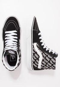 Vans - SK8 - Scarpe skate - black/true white - 1