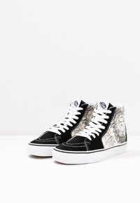 Vans - SK8 - Sneakers alte - black/true white - 4