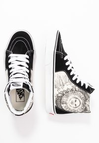 Vans - SK8 - Sneakers alte - black/true white - 3