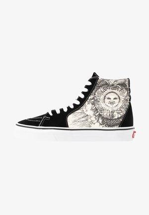 SK8 - Skateboardové boty - black/true white