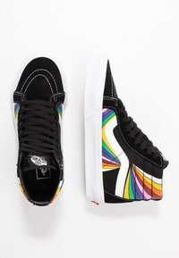 Vans - SK8 REISSUE - Zapatillas skate - black/true white/multicolor - 1