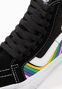 Vans - SK8 REISSUE - Zapatillas skate - black/true white/multicolor - 6