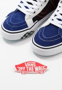 Vans - SK8 REISSUE CAP - Höga sneakers - blueprint/bit of blue - 5