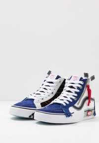 Vans - SK8 REISSUE CAP - Höga sneakers - blueprint/bit of blue - 2