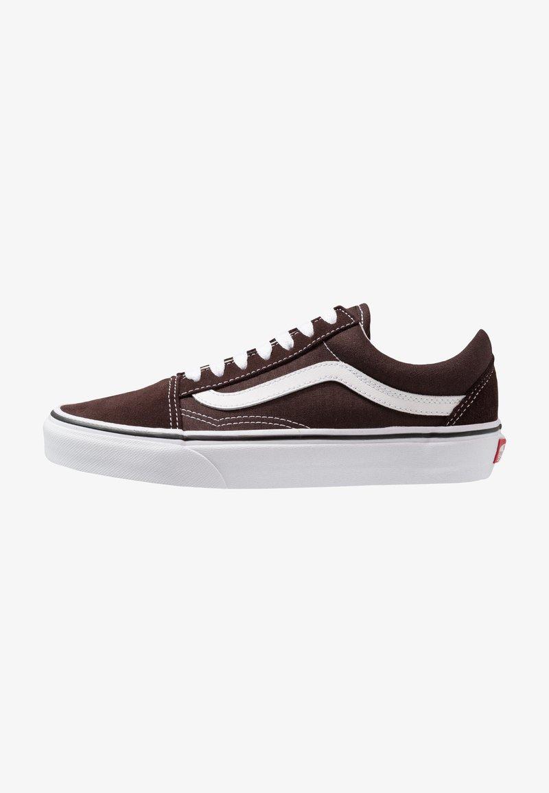 Vans - OLD SKOOL - Zapatillas - chocolate torte/true white