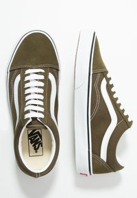 Vans - OLD SKOOL - Sneakersy niskie - beech/true white - 1