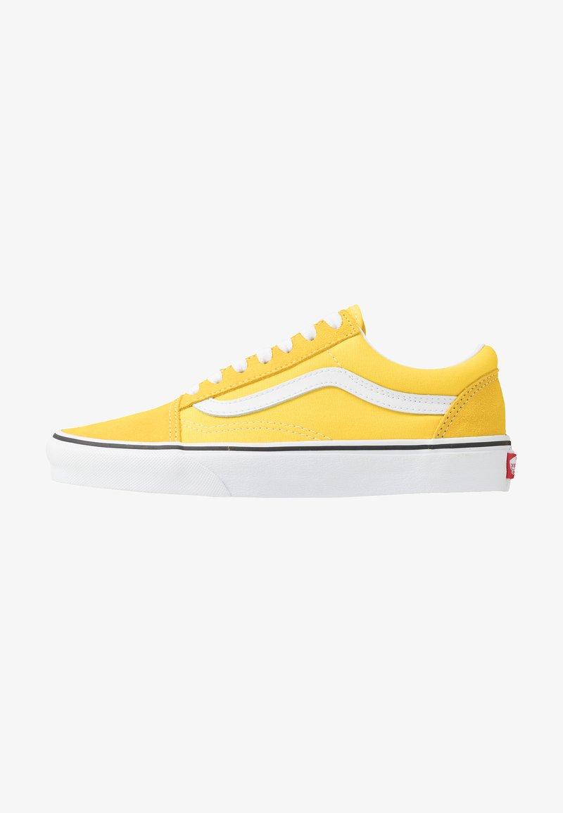 Vans - OLD SKOOL - Sneakers laag - vibrant yellow/true white