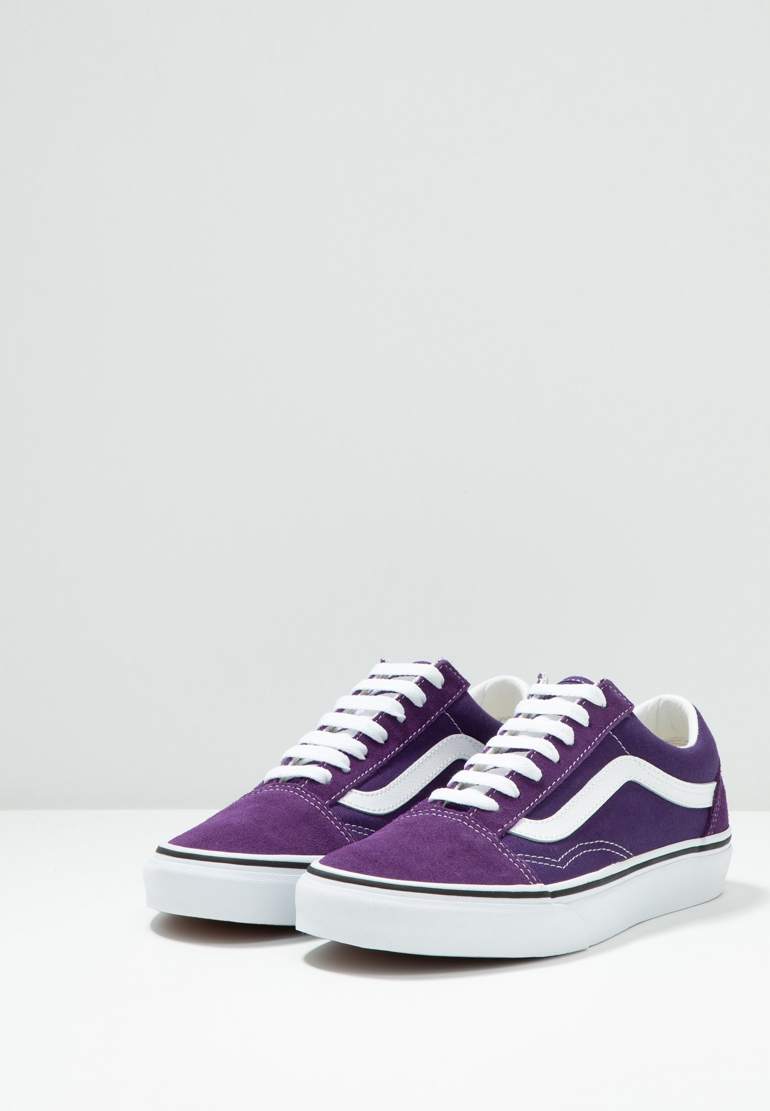 Old Indigo Vans true SkoolBaskets Violet Basses White uTFK1clJ3