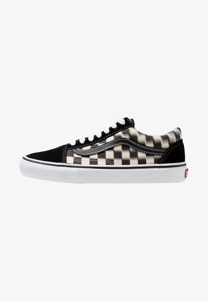 Vans - OLD SKOOL - Sneaker low - black/classic white