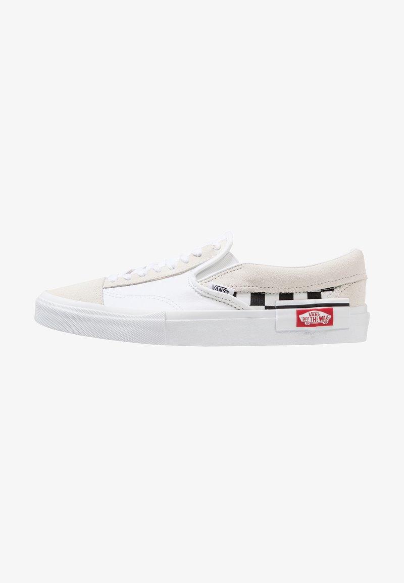 Vans - FAKE SLIPON - Slip-ons - true white/black