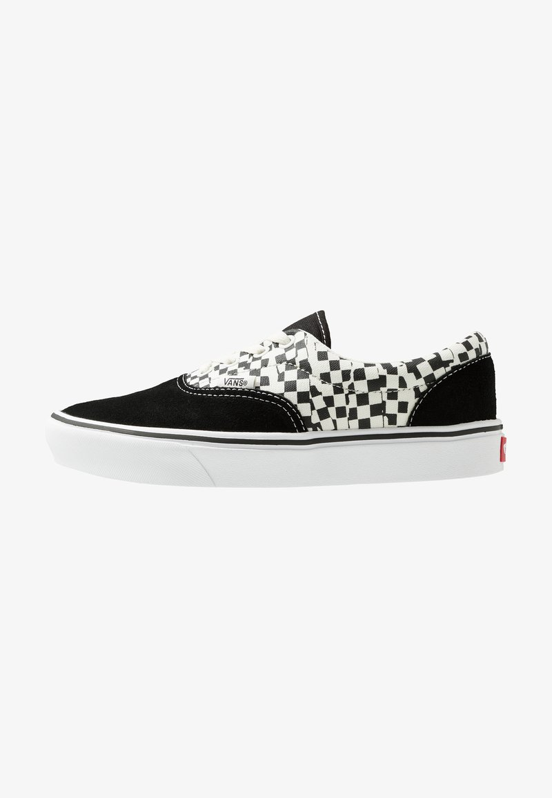Vans - COMFYCUSH ERA - Obuwie deskorolkowe - black/true white
