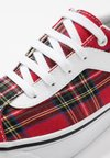 Vans - BOLD - Sneaker low - red/true white