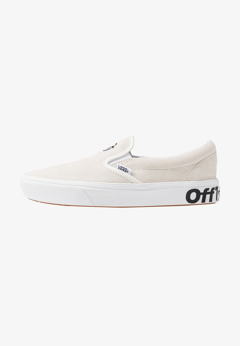 Vans - COMFYCUSH SLIP-ON - Slipper - blanc/black