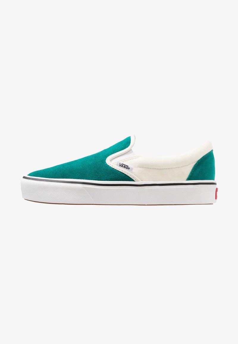 Vans - COMFYCUSH SLIP-ON - Scarpe senza lacci - quetzal/classic white
