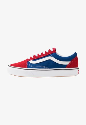 COMFYCUSH OLD SKOOL - Sneakersy niskie - chili pepper/true blue