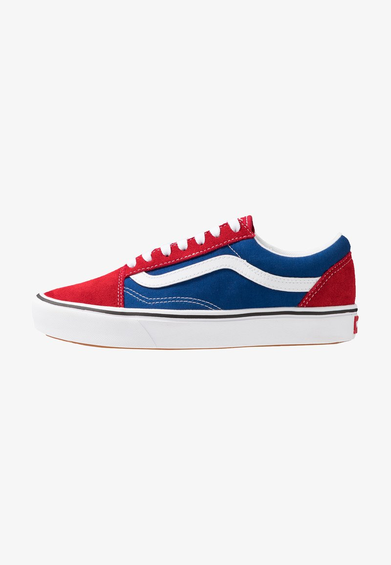 Vans - COMFYCUSH OLD SKOOL - Sneakersy niskie - chili pepper/true blue