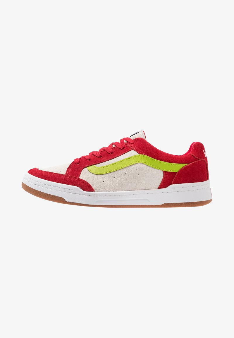 Vans - HIGHLAND - Sneaker low - tango red/marshmallow/lime green