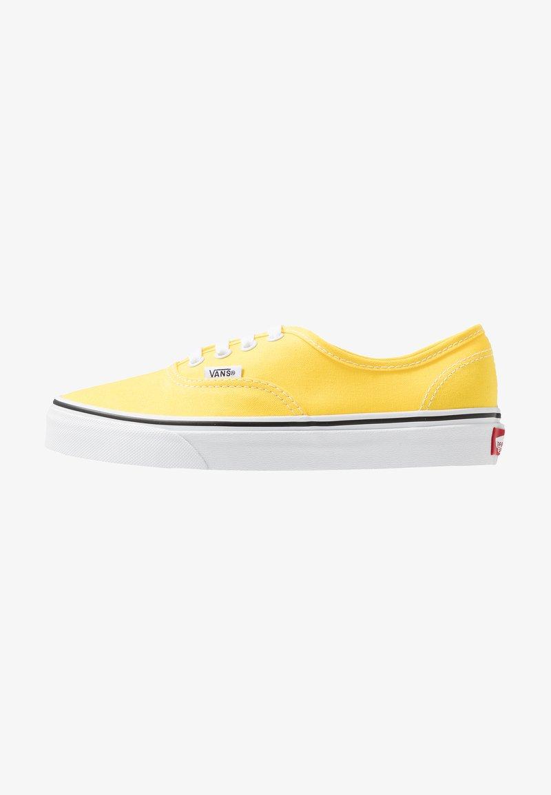 Vans - AUTHENTIC - Trainers - vibrant yellow/true white