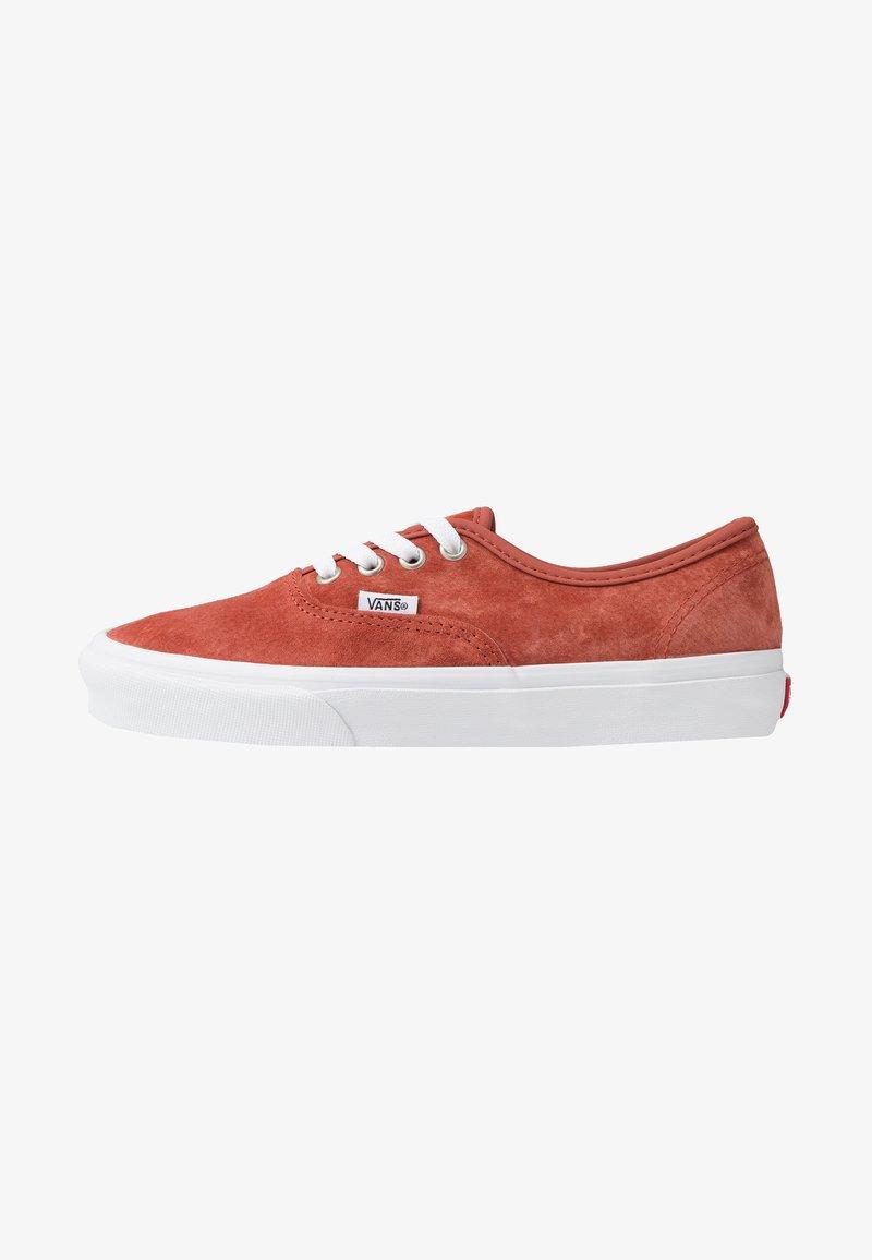 Vans - AUTHENTIC - Sneaker low - burnt brick/true white