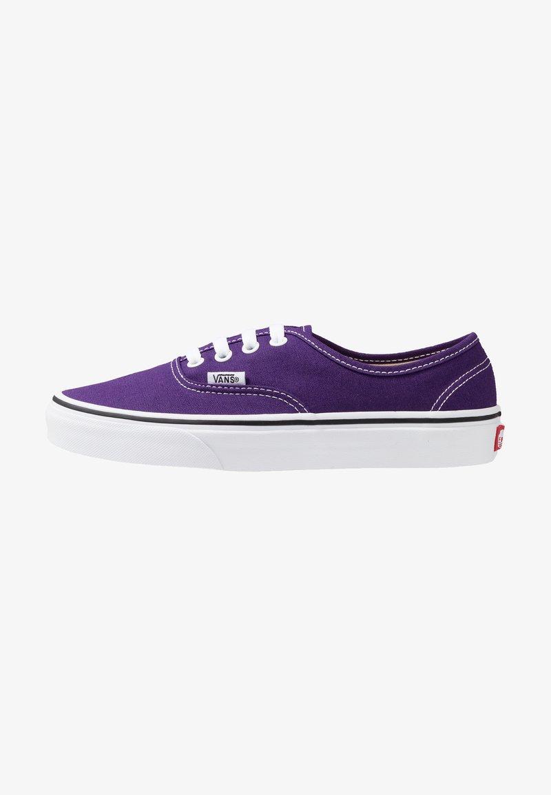 Violet Vans AuthenticBaskets Basses true Indigo White hxtsQrdCB