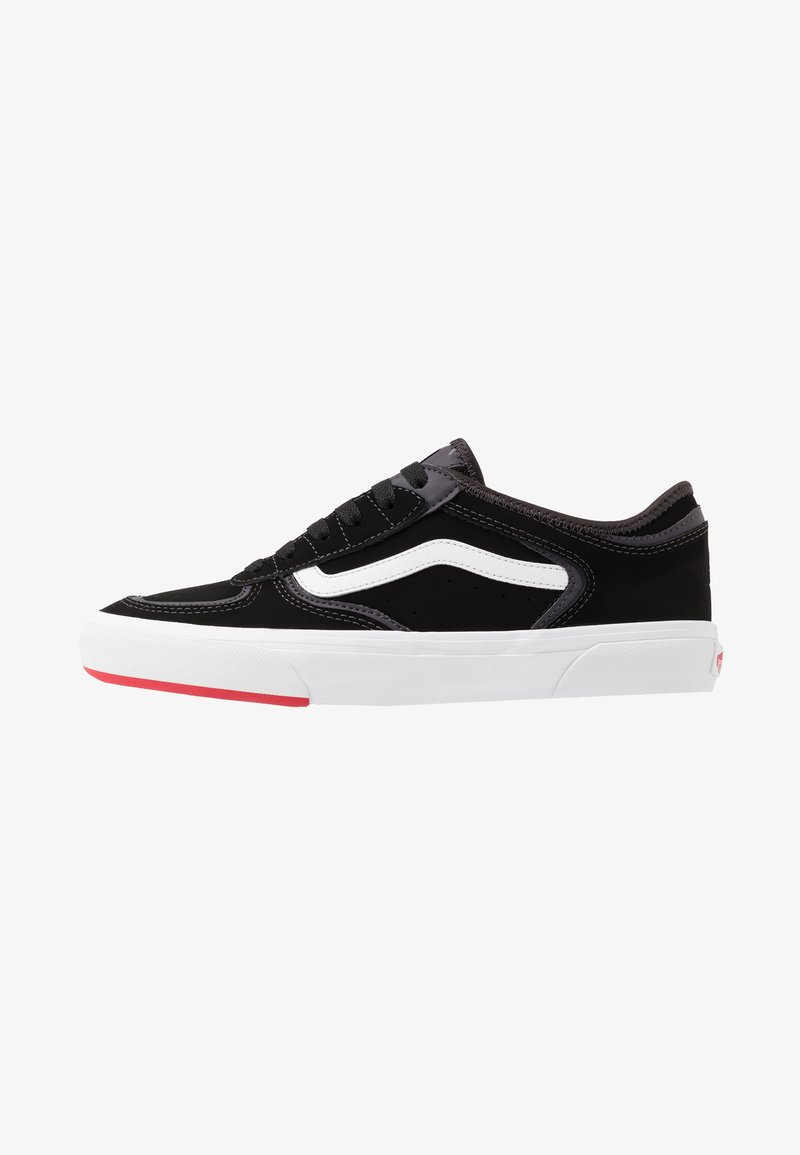 Vans - ROWLEY - Skateschoenen - black/red