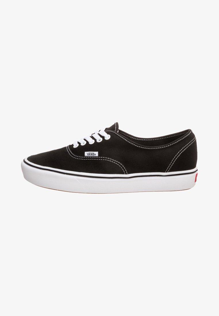 Vans - AUTHENTIC COMFYCUSH - Skateschuh - black/true white