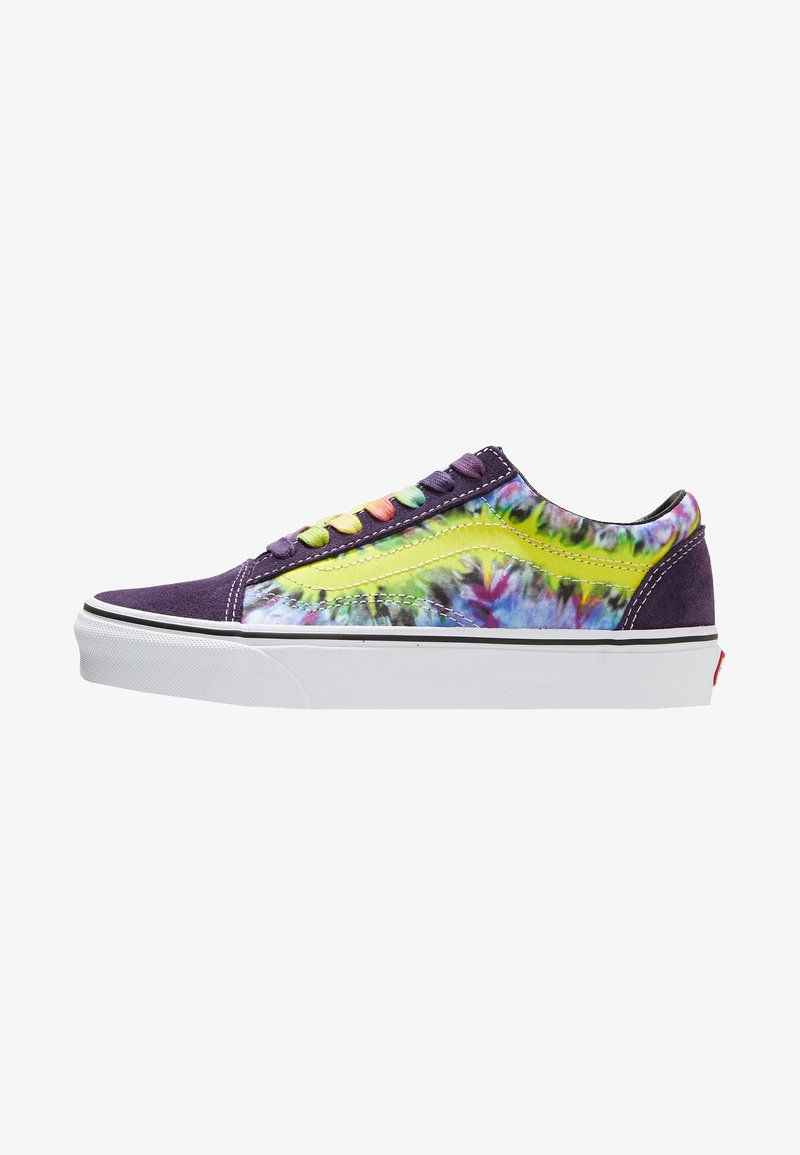 Vans - UA OLD SKOOL TIE DYE - Sneaker low - mysterioso/true white