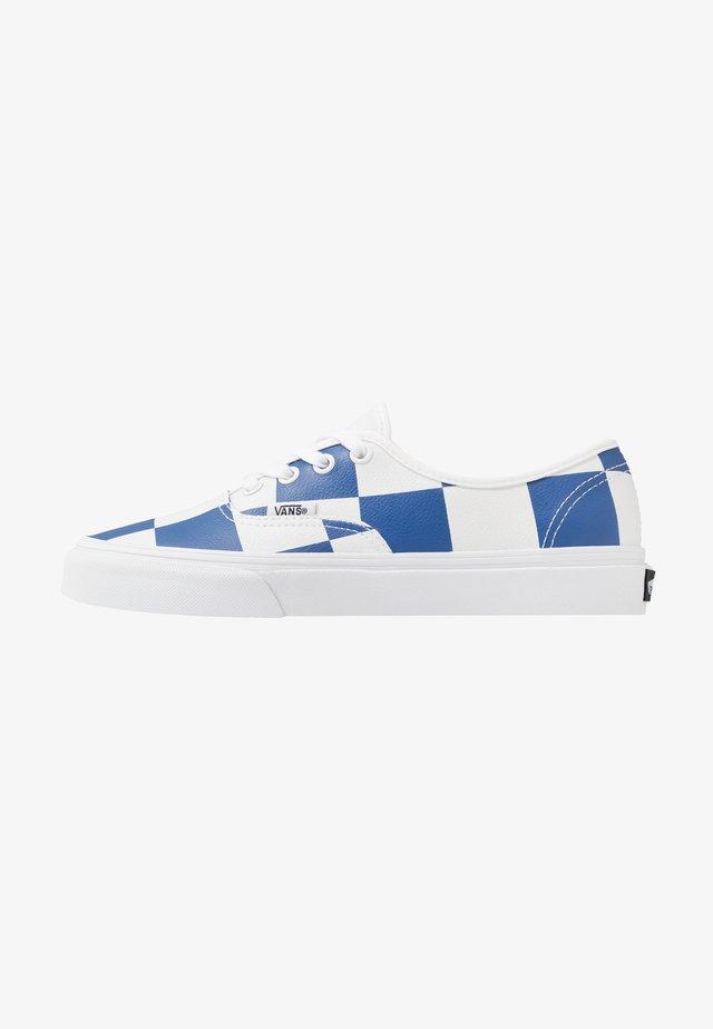 AUTHENTIC - Sneakers basse - true white/true blue