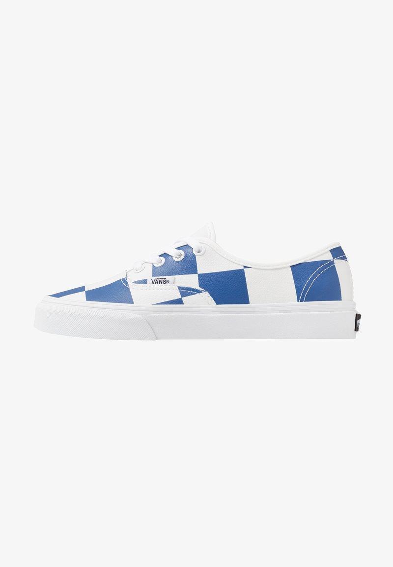 Vans - AUTHENTIC - Zapatillas - true white/true blue