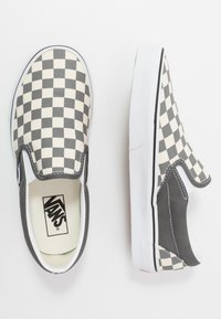 Vans - CLASSIC - Instappers - pewter/true white - 1
