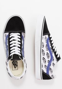 Vans - OLD SKOOL - Sneakersy niskie - black/royal blue - 1